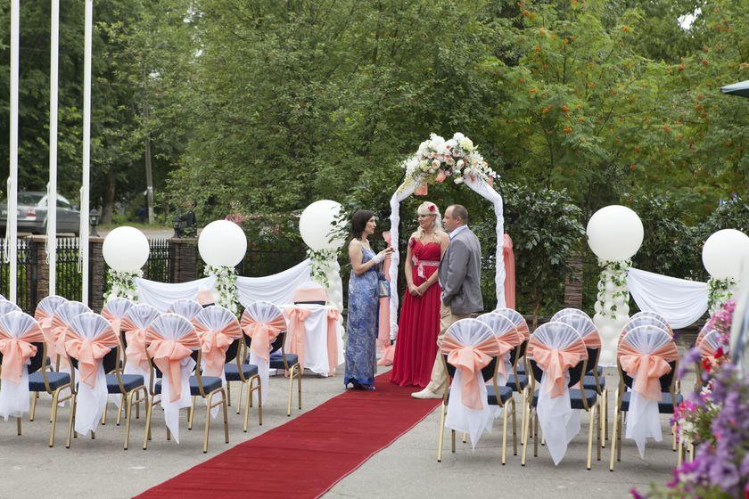Оформление выездной церемонии фото: 174 года на Невеста. info